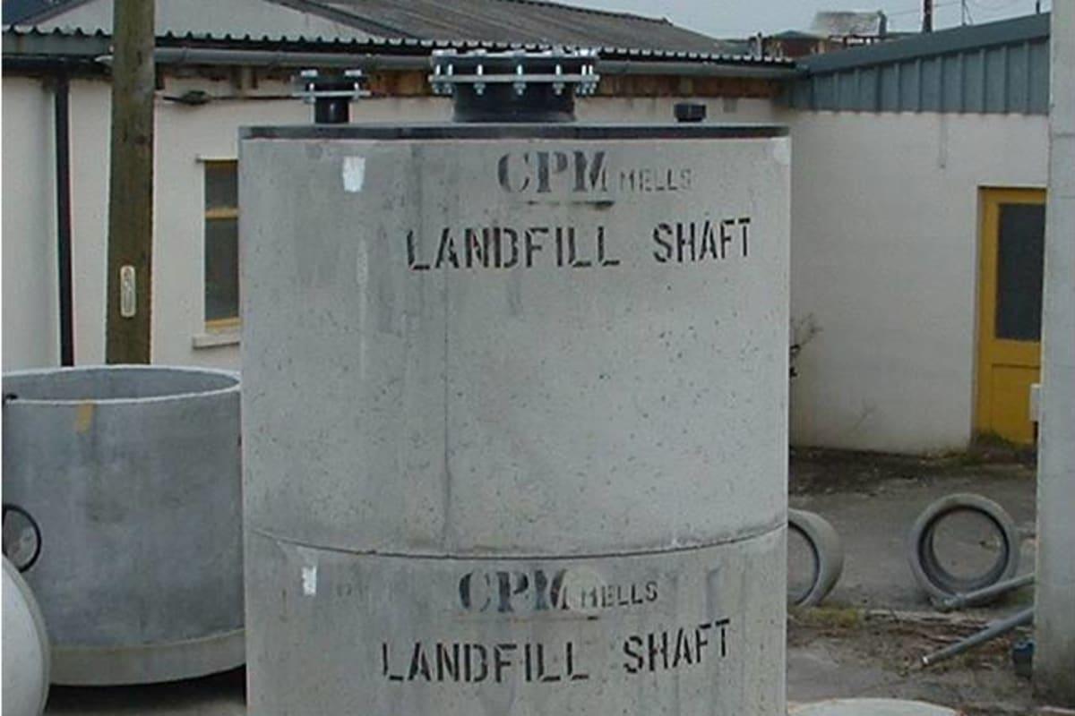 waste management landfill shafts