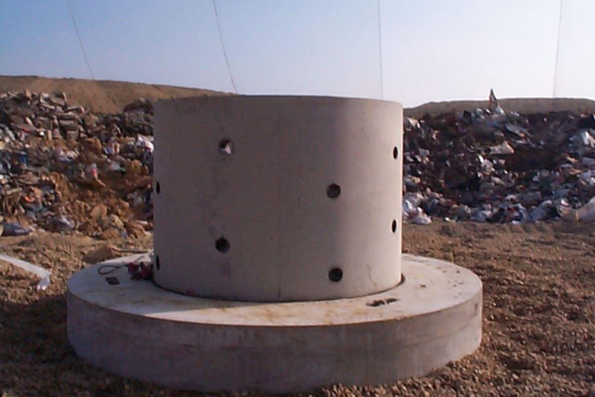 waste management system landfill