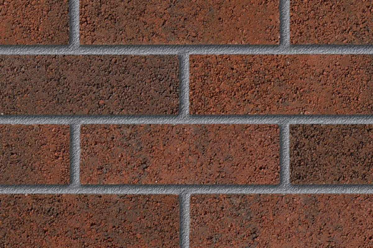fairway woodspring garnet perforated facing brick swatch panel