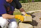 Installing Croft Walling