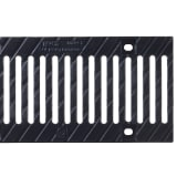 birco 150 cast iron slotted grate 12mm - c250 e600 and f900
