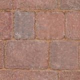 tegula - red and charcoal multi