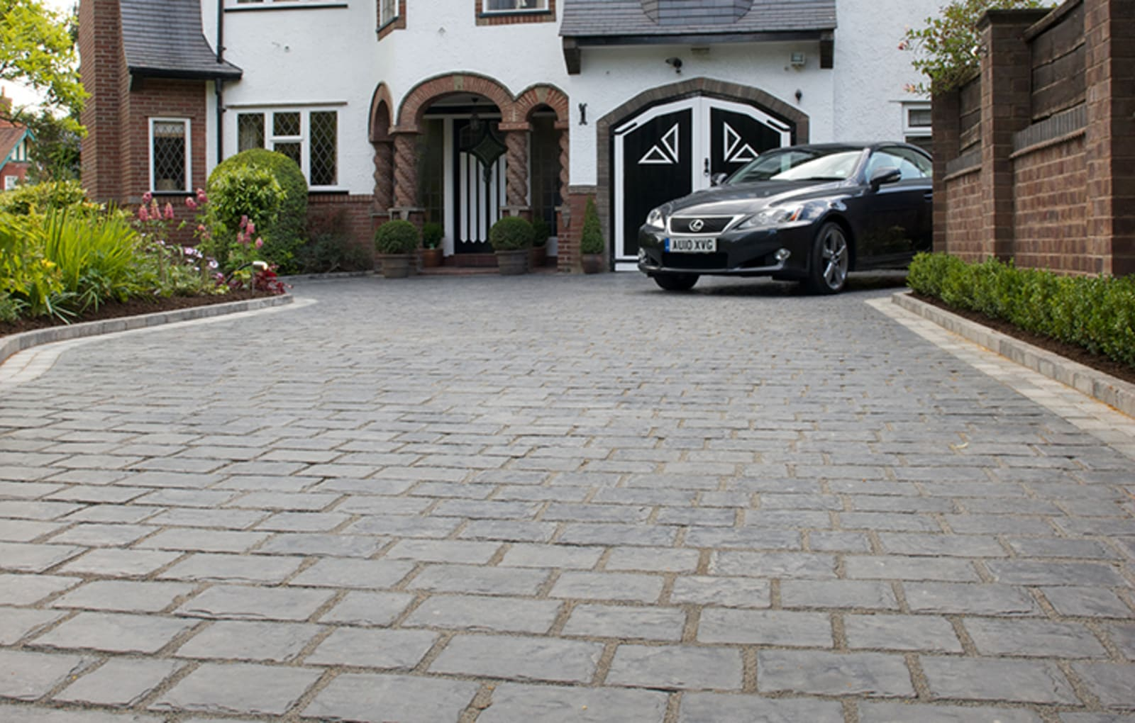 marshalls split stone installed by classic paving