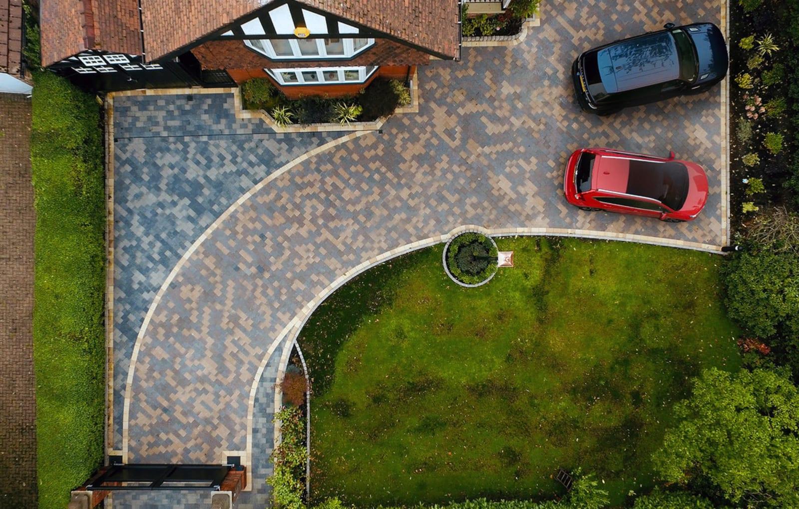 Scoutmoor Sawn Setts and Sawn Granite Setts driveway