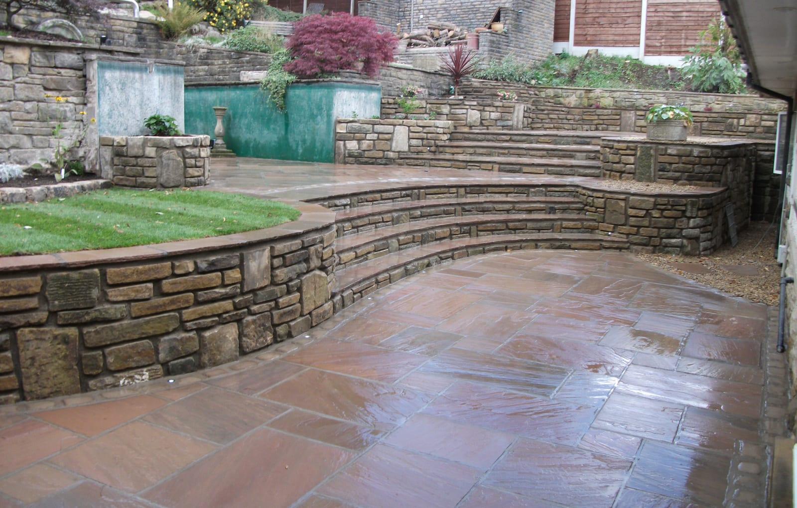 s bennet using mashalls paving