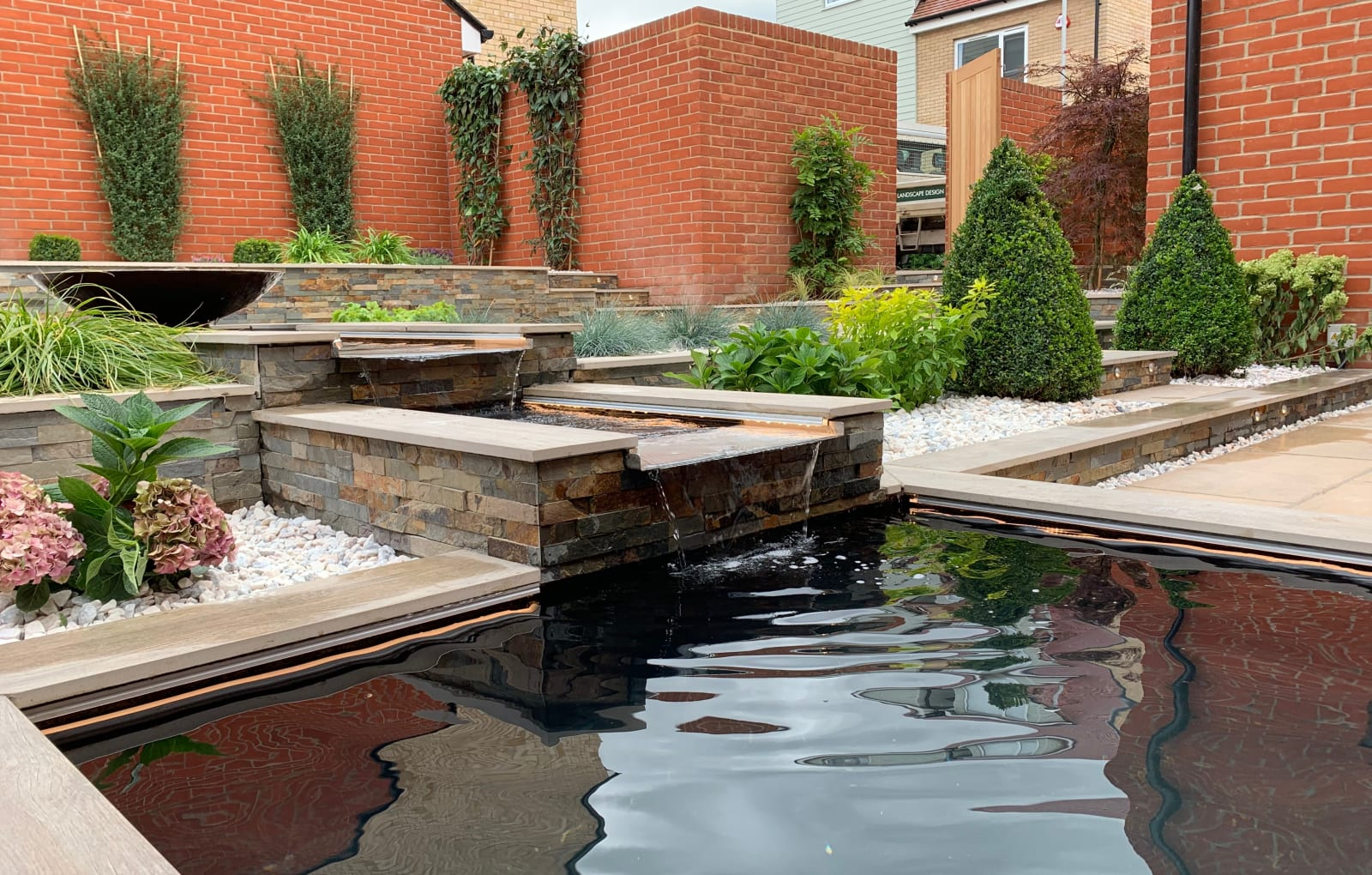 Marshalls Symphony Tumbled garden paving