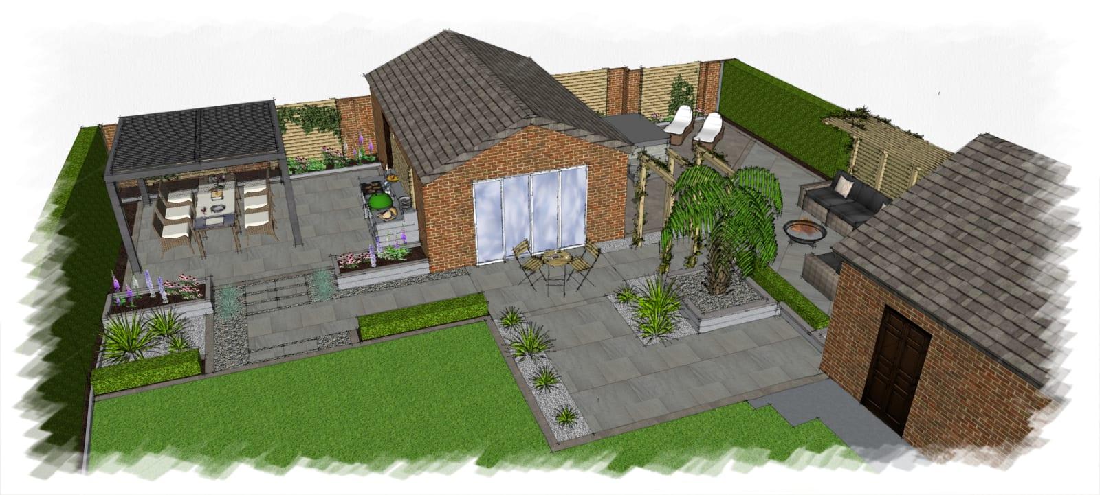 Leicestershire Garden Design Co Ltd, Marshalls Accredited ...