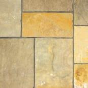 Limestone Aluri - Rustic Ochre Multi