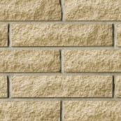 Marshalite Split Face Walling - Buff