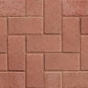 Standard Block Paving - Red