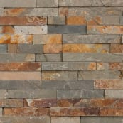 Stoneface Drystack - Copper Slate
