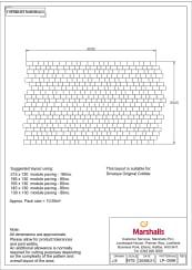 Drivesys Original Cobble - Laying Pattern - Pdf
