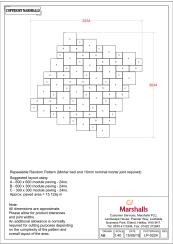 600X600 600X300 300X300 - Repeatable Random Pattern
