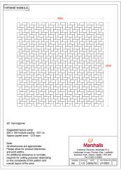 200X100 - 90° Herringbone - Pdf