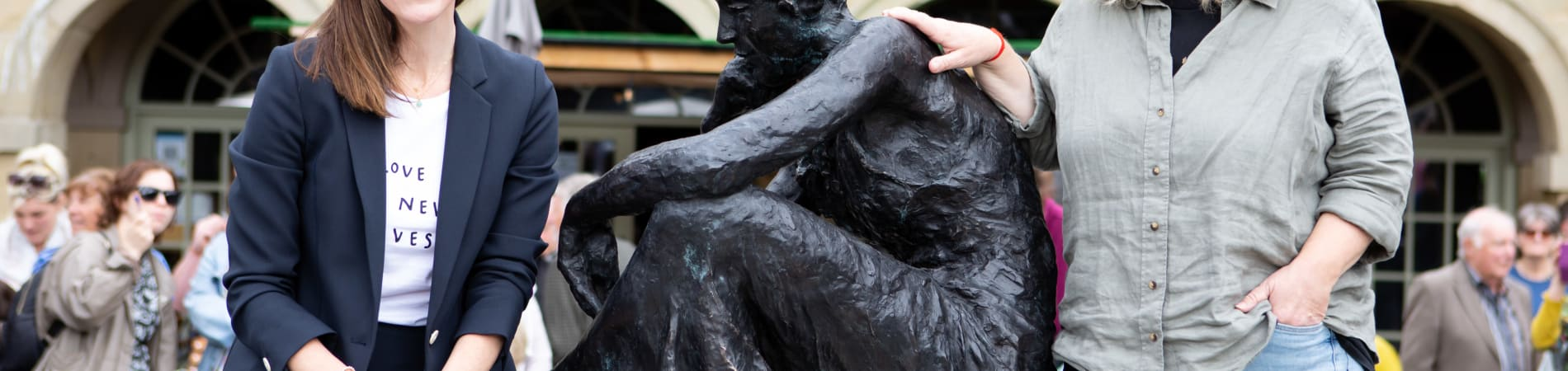 Marshalls donation to iconic local 'Gentleman Jack' sculpture