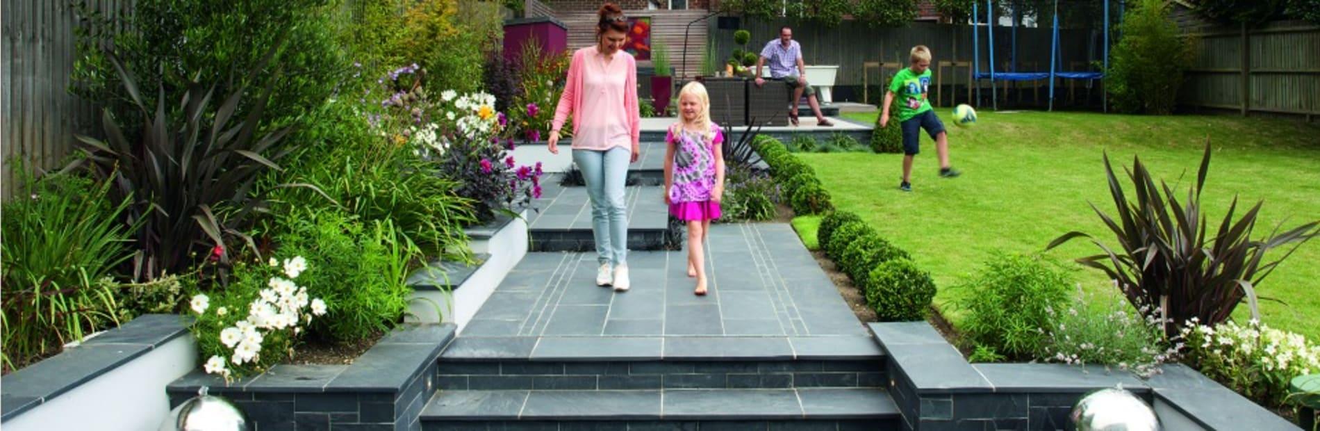 garden pebble ideas