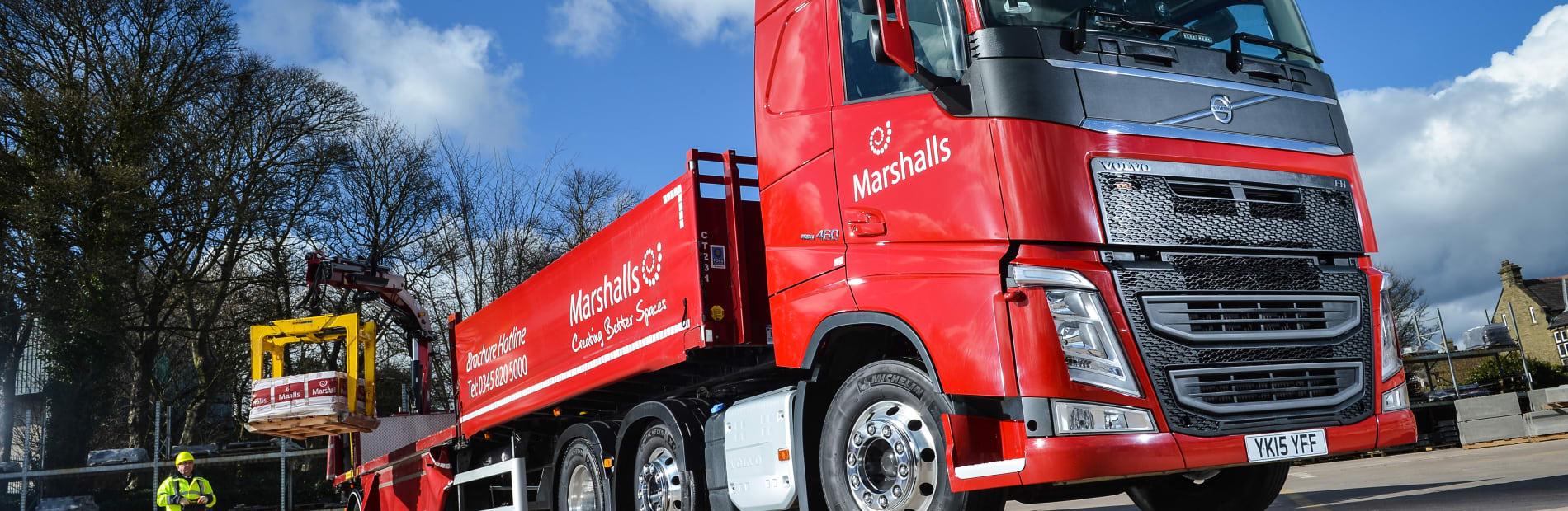marshalls truck