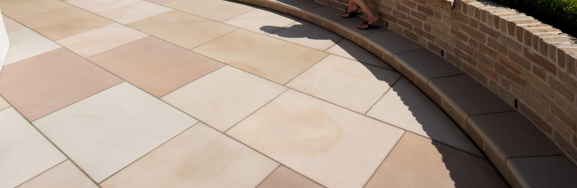 Marshalls Sandstone paving