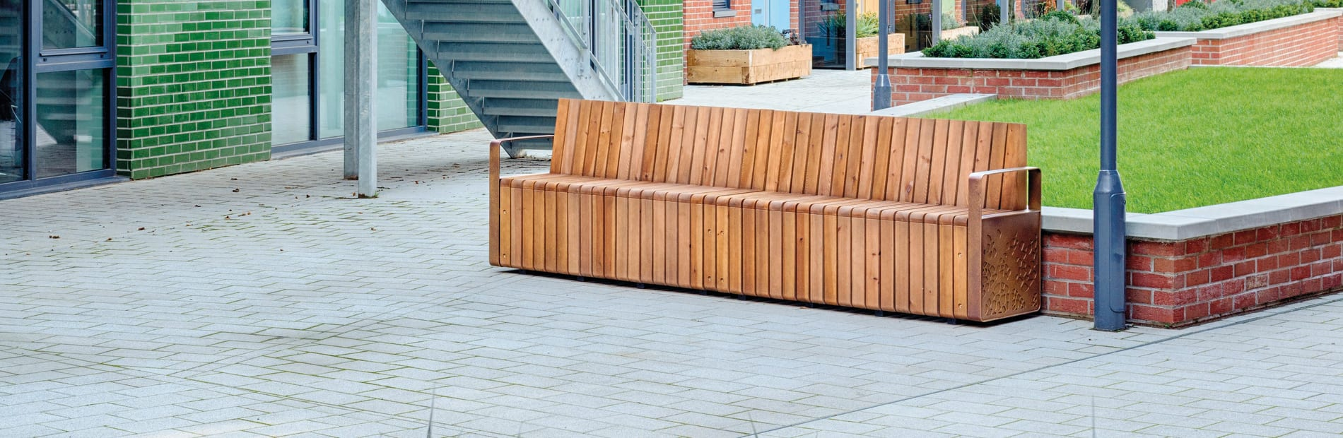 natural elements bench