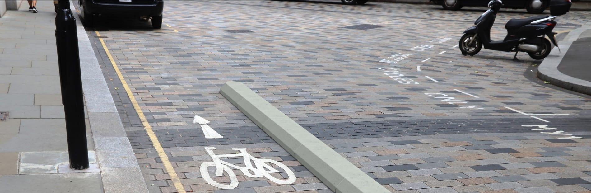 concrete cycle segregation unit 255mm