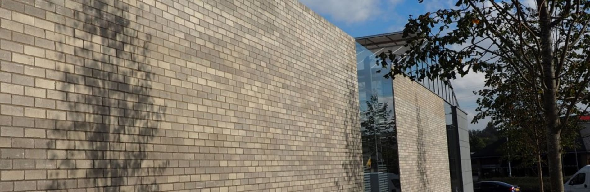 Building made with Edenhall bricks