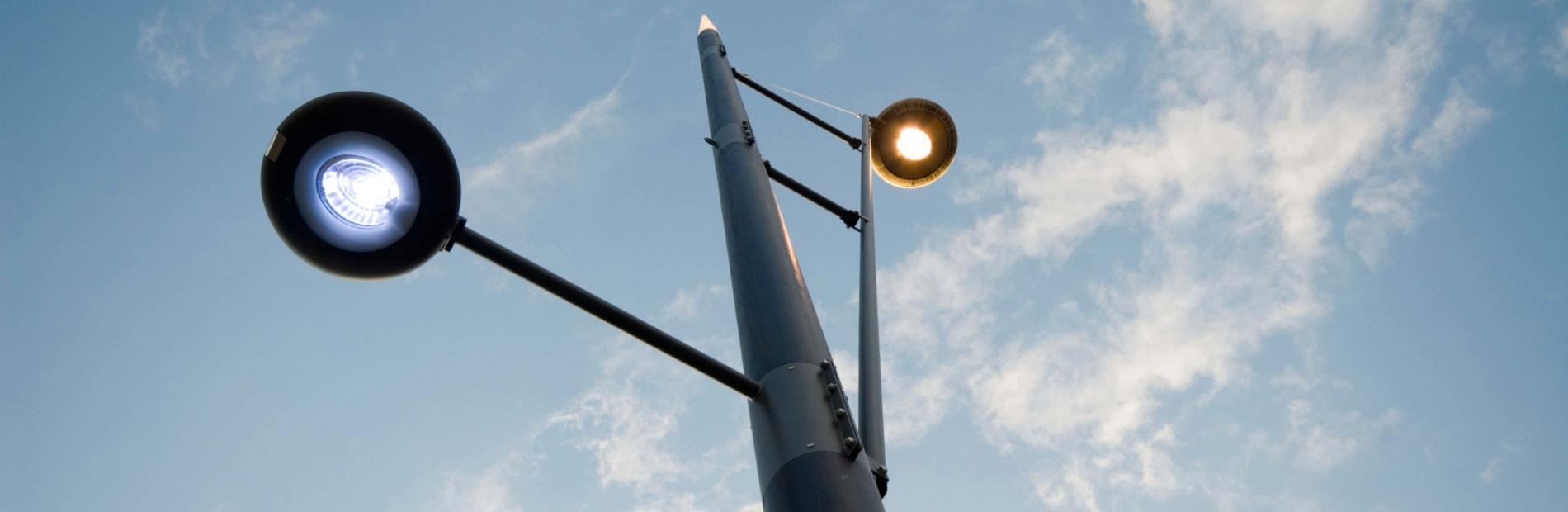 geo disc lantern