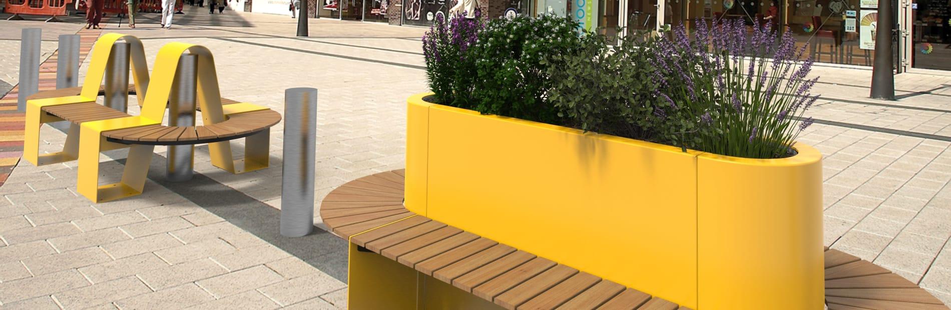 Kirkos HVM street furniture