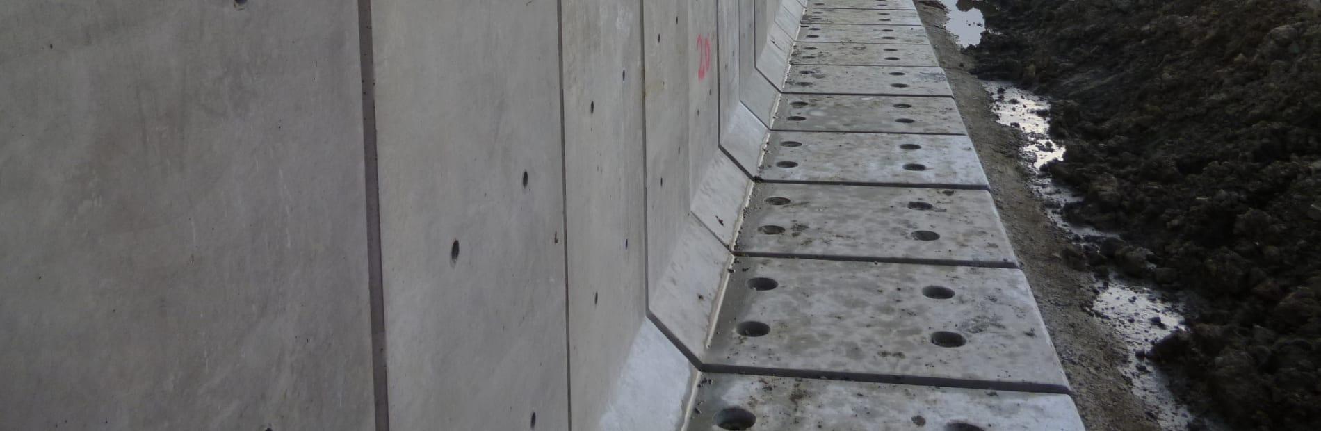 l-shape walls