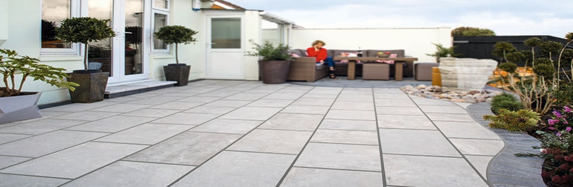 how to point your patio