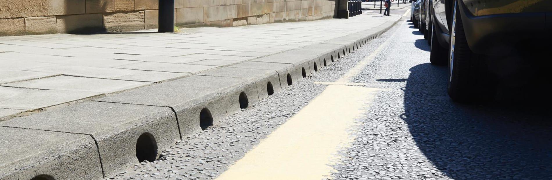 Beany block drainage system   Marshalls
