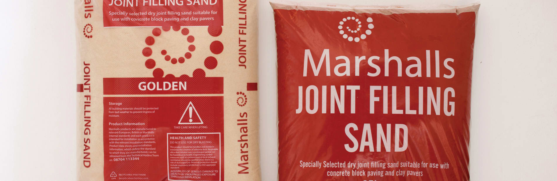 bag of jointing sand