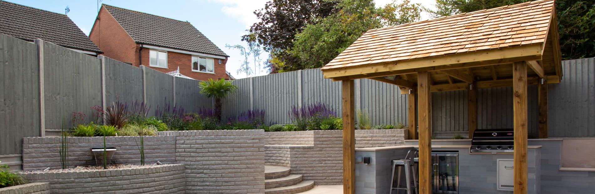Outdoor kitchen ideas for new garden designs Blog | Marshalls