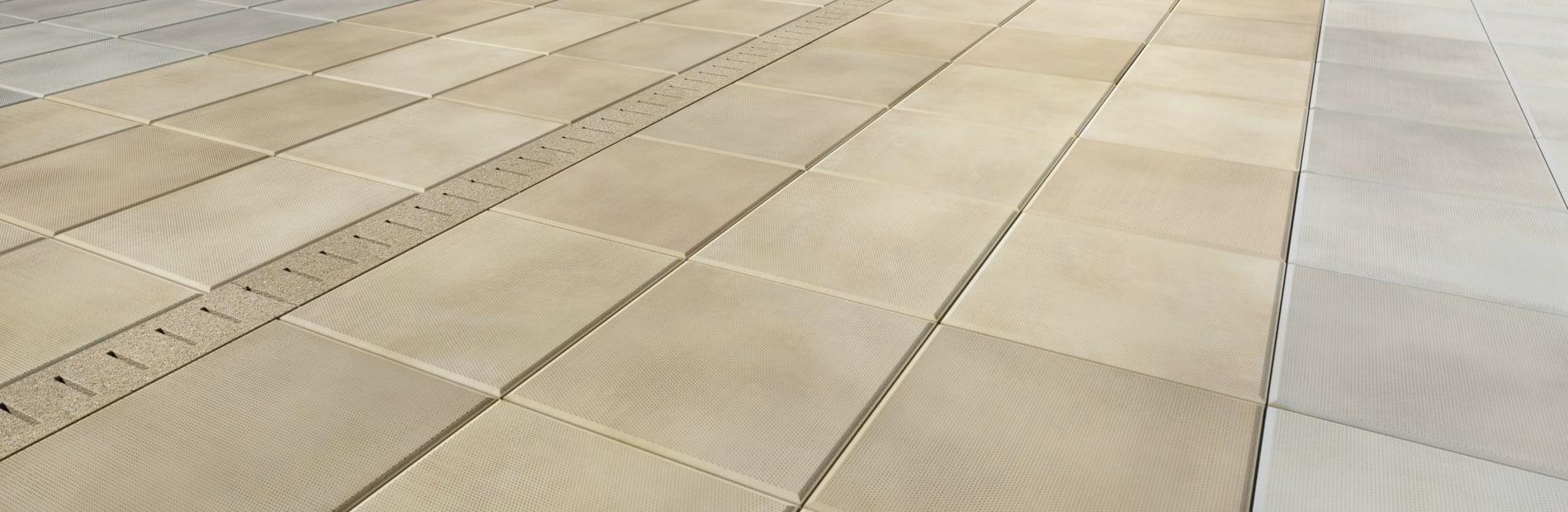 pave drain concrete