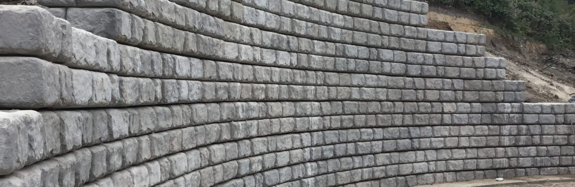 redi rock retaining wall