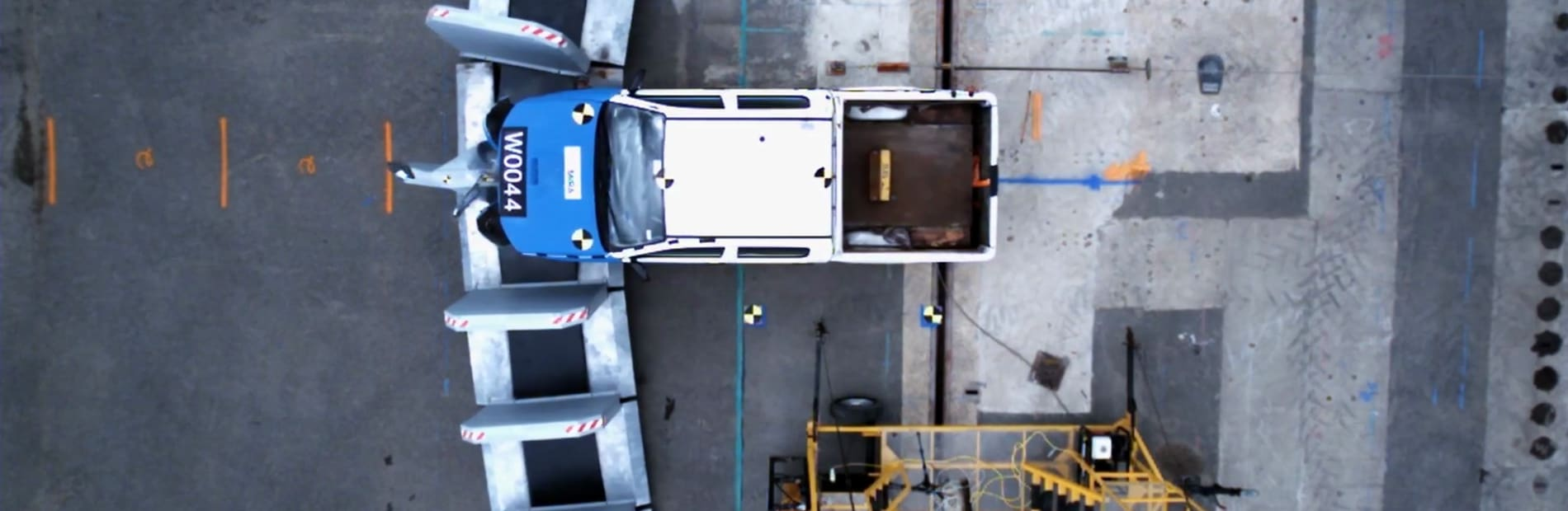 RhinoGuard® Steel GateKeeper™ being tested to IWA 14.1 standard
