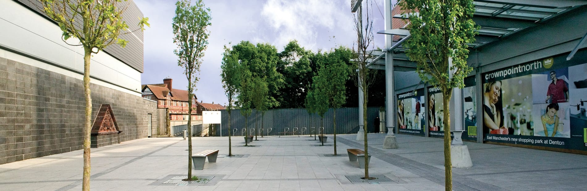 sineu graff rendezvous benches and pennant cycle parking