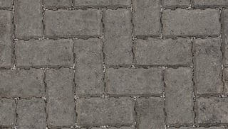 Marshalls Drivline Priora block paving in charcoal.
