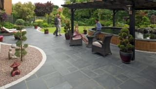 Marshalls Fairstone Casarta Slate in Silver Grey.