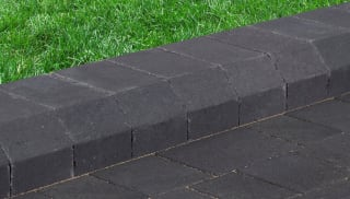 marshalls savanna kerb single block in charcoal