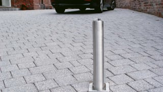 Driveway Security Post