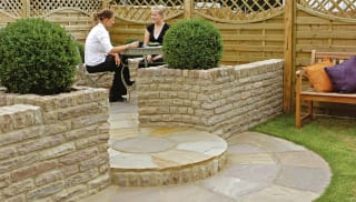 Fairstone Traditional Tumbled Walling