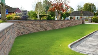 walling in a garden