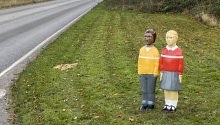 Billy and Belinda bollards