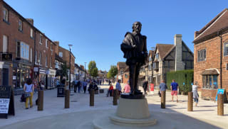 Bespoke bollards created to blend into the historic surroundings