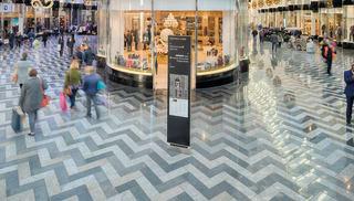 marshalls tritanial, thalassa, proteus, prospero and rosalind granites - victoria gate shopping centre leeds