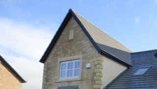 Cast Stone Gable Vents