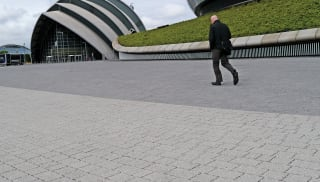 mistral priora block paving with dome buildings
