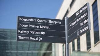 Enhancing Pedestrian Movement – Wayfinding & Signage