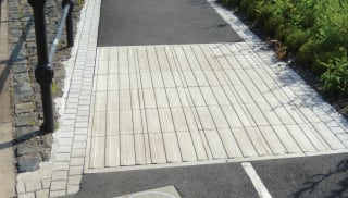 Cycleway Demarcation Concrete Tactile Paving