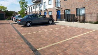 drexus driveline drain insitu car park housing estate